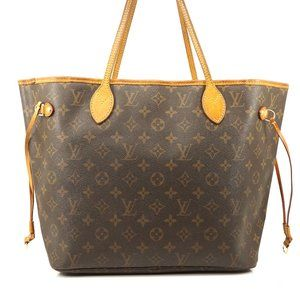Auth Louis Vuitton Neverfull Mm Tote #5758L54